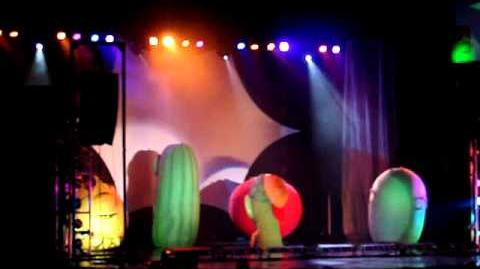 Veggietales Theme´s Show at live Sugarland TX. 25.SEPT.2010