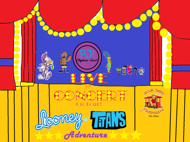 File:Playhouse Jariel Live in Concert On Tour! Looney & Titans Adventure Logo.png