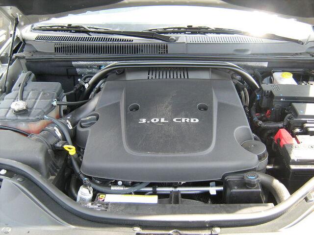 File:2008 Jeep Grand Cherokee 3.0 Diesel engine.JPG