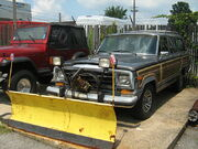 Jeep Grand Wagoneer snow blade frle