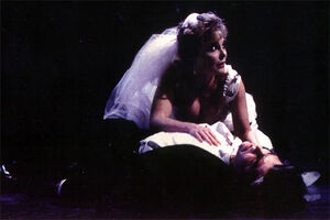 Rebecca Spencer as Lisa Carew in the World Premiere at the Alley
