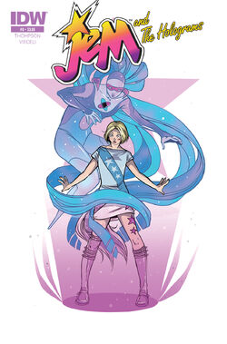Jem and The Holograms, Issue 08 - 01