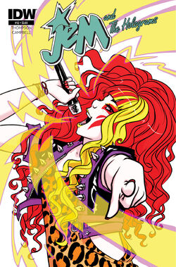 Jem and The Holograms, Issue 12 - 01