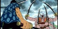 Roronoa Zoro vs Hatchan