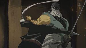 Edward fights Slicer