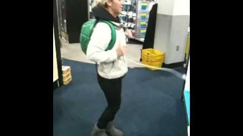 Dance Game in Best Buy