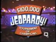 Jeopardy! Tournament of Champions Season 8 Logo