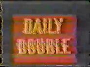 Daily Double 1983 Pilot Logo