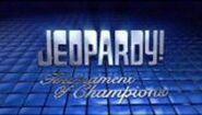 Jeopardy! Tournament of Champions Season 25 Logo