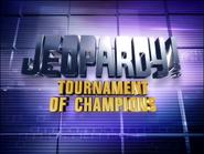 Jeopardy! Tournament of Champions Season 18 Logo