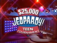 Jeopardy! Teen Tournament Season 7-8 Logo