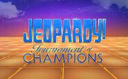 Jeopardy! Tournament of Champions Season 32 Logo