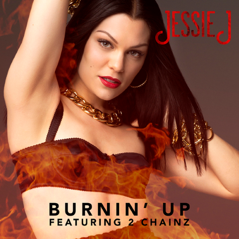 File:Single cover Burnin' Up.png