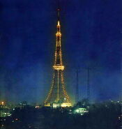 566px-Tokyo Tower 1960
