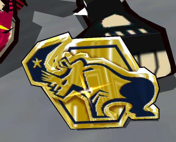 File:Love Shockers Golden Rhino Badge.png