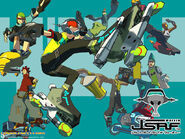 Jet Set Radio Future JSRF 2 by TechnoKid94