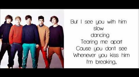 One Direction-I Wish(Lyrics Pictures Video)