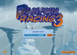 Platform Racing 3 - Christmas Background