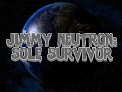 Jimmy Neutron Sole Survior Logo