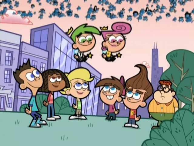 File:2D Sheen, 2D Libby, 2D Cindy, Cosmo, Wanda, Timmy, 2D Jimmy, & 2D Carl.png