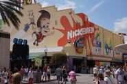Universal Studios Jimmy Neutron's Nicktoon Blast