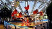 Nickelodeon Universe Jimmy Neutron's Atomic Collider ride