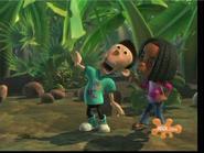Libby Pulling Sheen's Ear