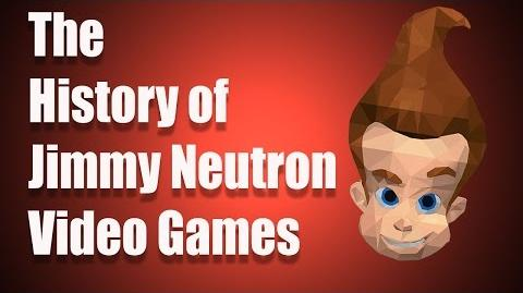 The History of Jimmy Neutron Video Games
