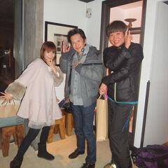 Araki and Shoko Nakagawa/Shizu going out for Italian