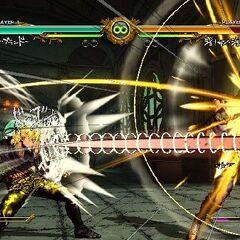 Dio unleashing his HHA, <i>ASB</i>