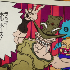 Hol Horse's appearance in Tohth