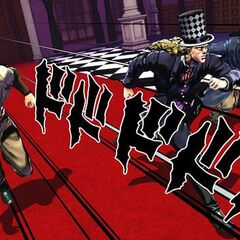Speedwagon with Tattoo and the Kempo Master, <i>EoH</i>