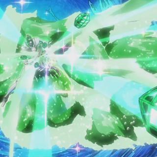 Hierophant Green's Emerald Splash