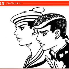 Sketch of both Josukes