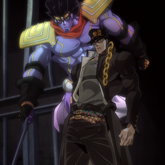 Star Platinum and <a href=