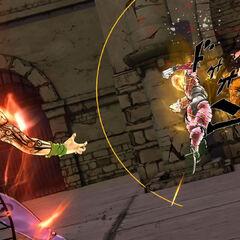 Diavolo fighting Fugo, <i>EoH</i>