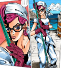 Trish as a cleaner