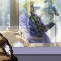 Moments away from safety, Shigechi sees Kira for the last time.