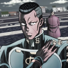 Okuyasu featured in the second opening, <i><a href=