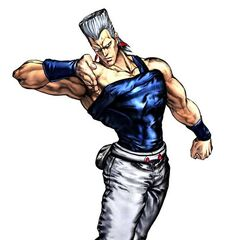 Polnareff as he appears in <i><a href=