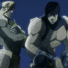 Wamuu and Kars awaiting Joseph and <a href=