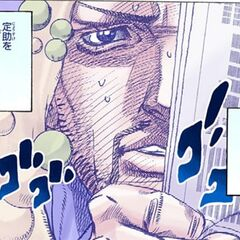 Looking upon Daiya with Josuke