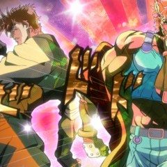Caesar and Joseph putting aside their differences to fight the <a href=