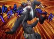 Roses' epic kick