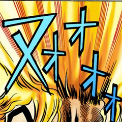 Dio enraged at Erina's insult