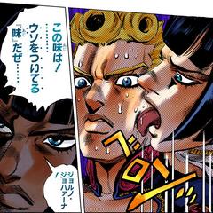Bruno licking Giorno