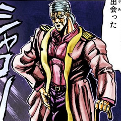 One of Speedwagon's suits