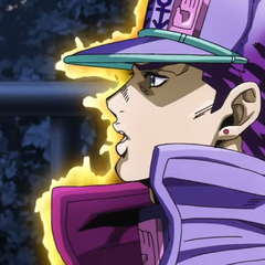Jotaro reminisces about his time spent in Morioh