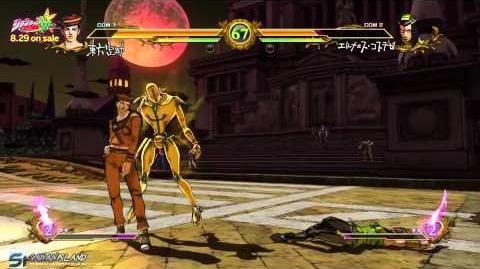 JoJo's Bizarre Adventure All Star Battle - Group E Full Matches HD