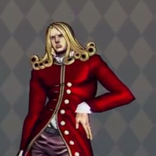 Funny Valentine Costume A in <i>All-Star Battle</i>
